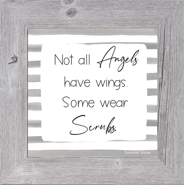 Not All Angels Have Wings by Summer Snow SS887