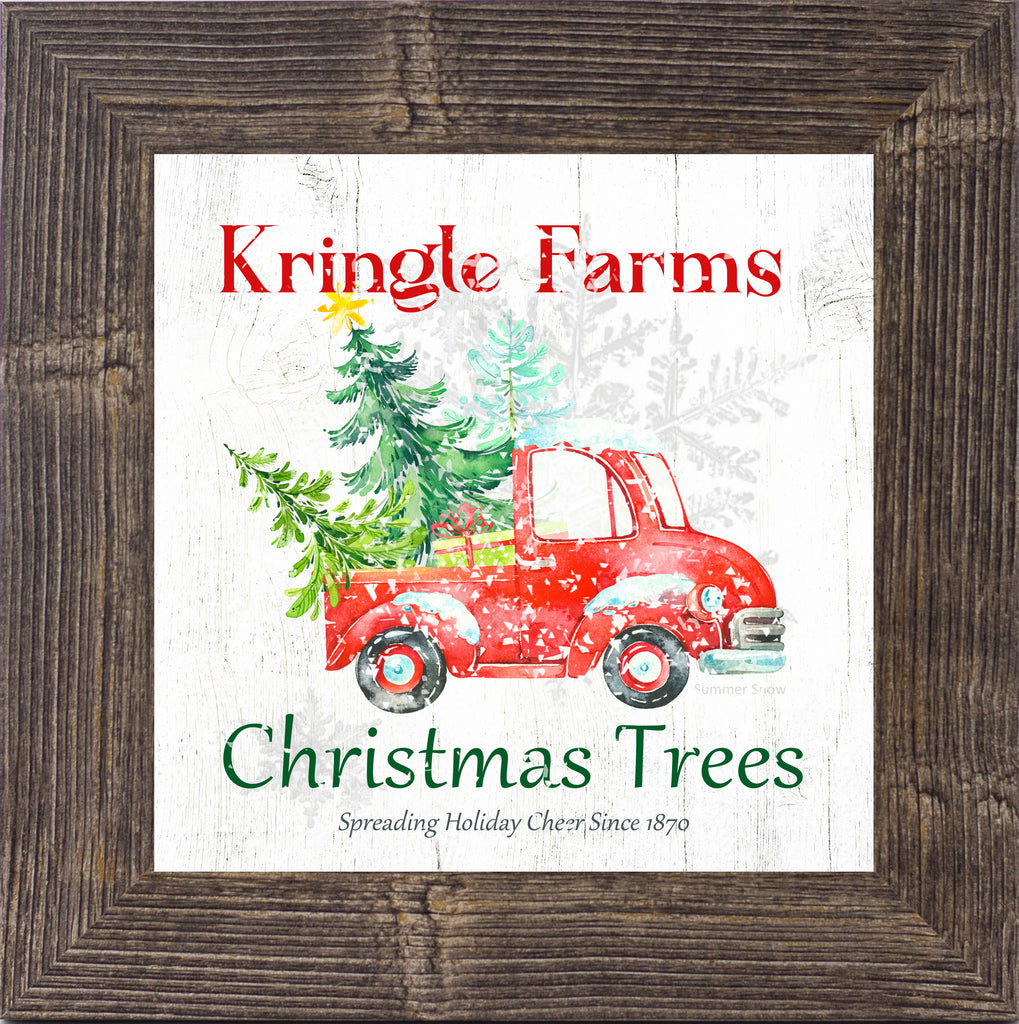 Kringle Farms Christmas Trees by Summer Snow SS888