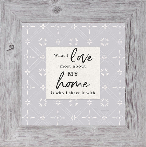 What I Love Most About My Home by Summer Snow SS907