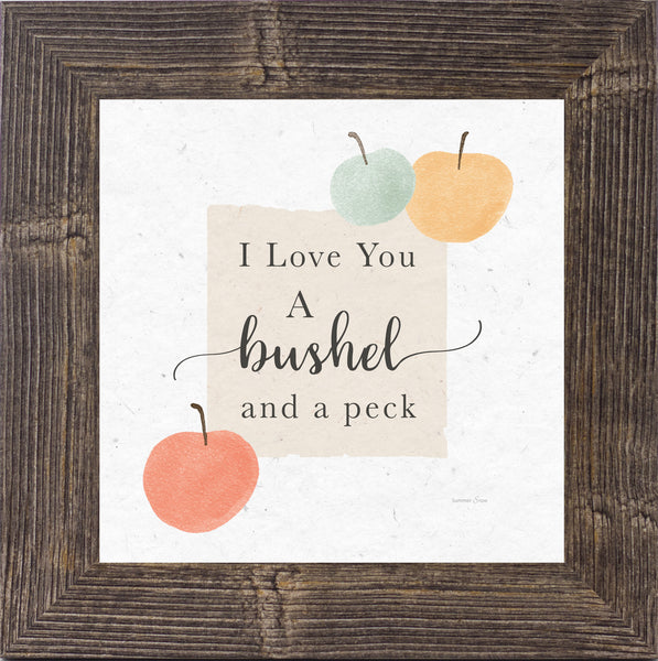 I Love You a Bushel and a Peck by Summer Snow SS908