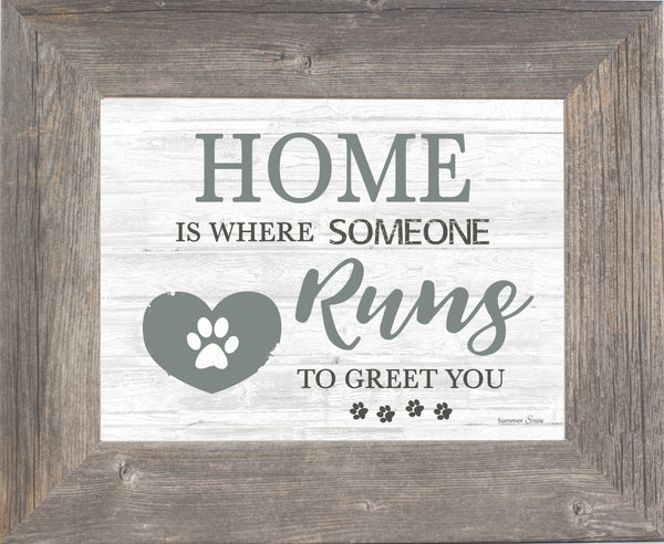 Home Is Where Someone Runs to Greet You SSA02