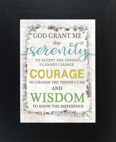 Serenity Prayer SSA056
