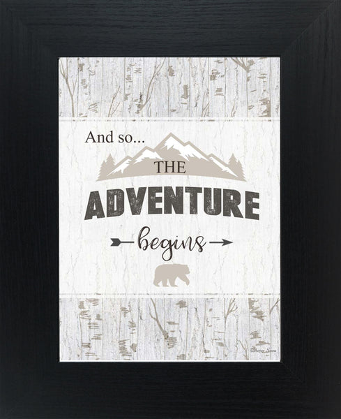 And So...The Adventures Begin mountains SSA058 - Summer Snow Art