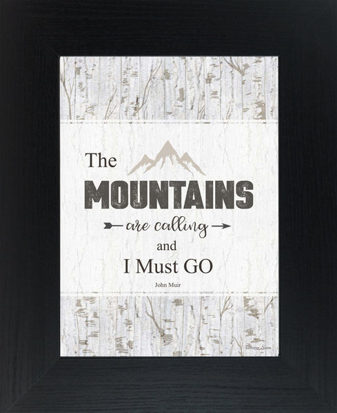 The Mountains are calling and I Must Go by Summer Snow SSA060
