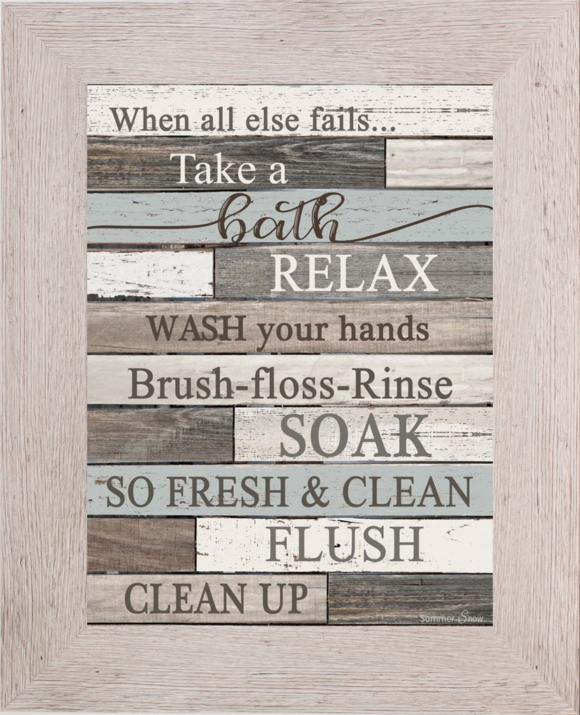When All Else Fail...Take a Bath SSA068