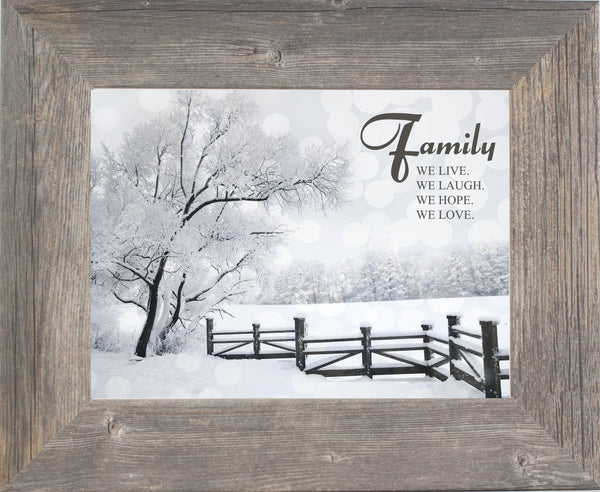 Family Live Laugh Hope Love SSA099 - Summer Snow Art