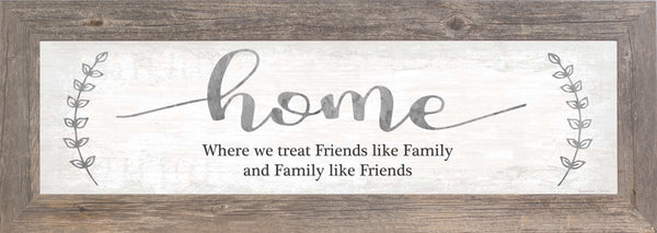 Home Friends like Family SSA103626 - Summer Snow Art
