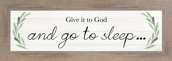 Give It to God and Go to Sleep SSA103649