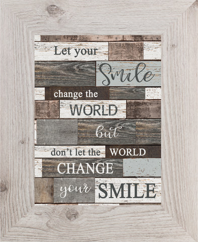 Let Your Smile Change the World SSA120