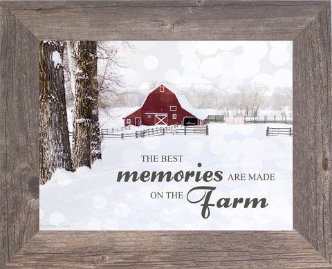 The Best Memories are Made on the Farm SSA124