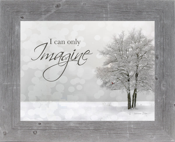 I Can Only Imagine grey SSA12 - Summer Snow Art