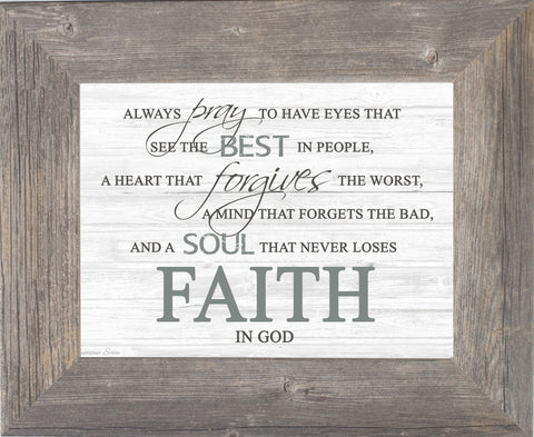 Faith in God SSA131