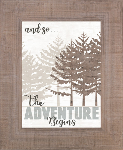 And So...The Adventure Begins SSA134 - Summer Snow Art