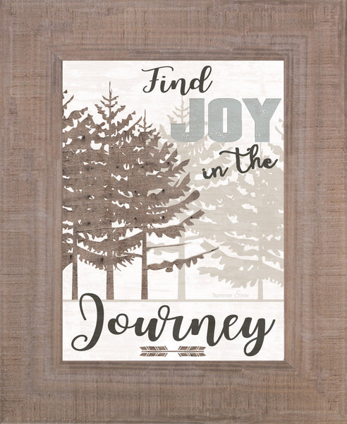Find Joy in the Journey SSA135 - Summer Snow Art