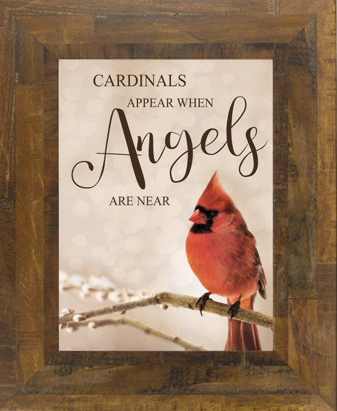 Cardinals Appear When Angels are Near SSA136 - Summer Snow Art