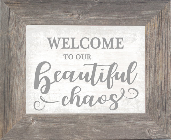 Welcome to Our Beautiful Chaos SSA144 - Summer Snow Art