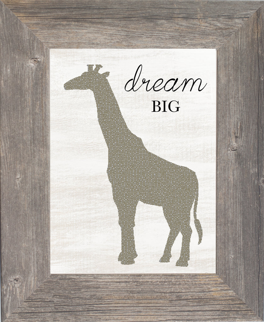 Dream Big Giraffe by Summer Snow SSA169 - Summer Snow Art