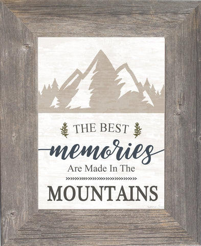 The Best Memories are Made in the Mountains SSA185