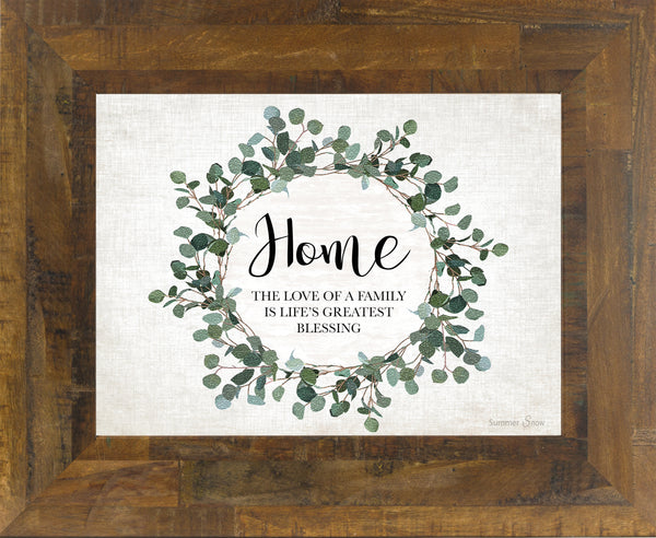 Home The Love of a Family SSA190 - Summer Snow Art