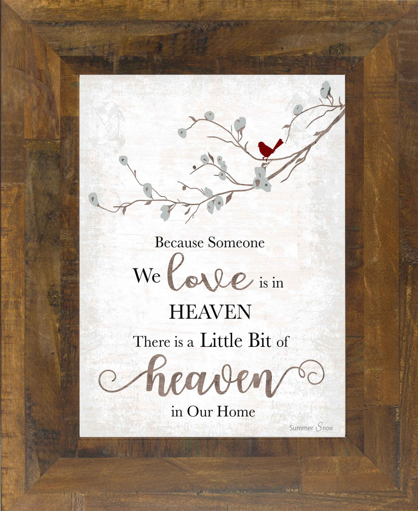 Because Someone We Love is in Heaven SSA193 - Summer Snow Art