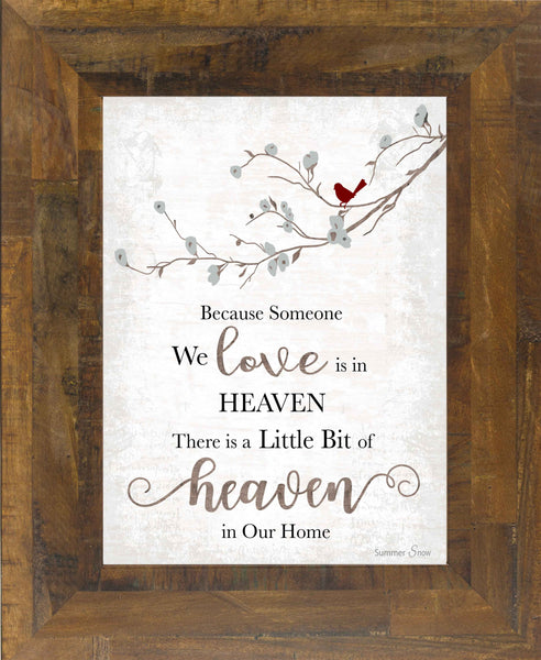 Because Someone We Love is in Heaven SSA193