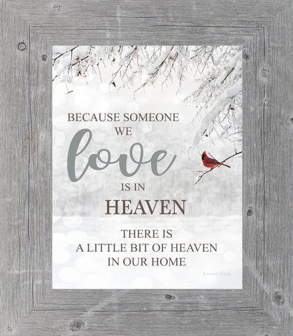 Because Someone We Love is in Heaven SSA23