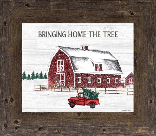 Bringing Home the Tree SSA28 - Summer Snow Art