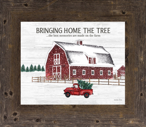 Bringing Home the Tree The Best Memories Farm SSA29 - Summer Snow Art
