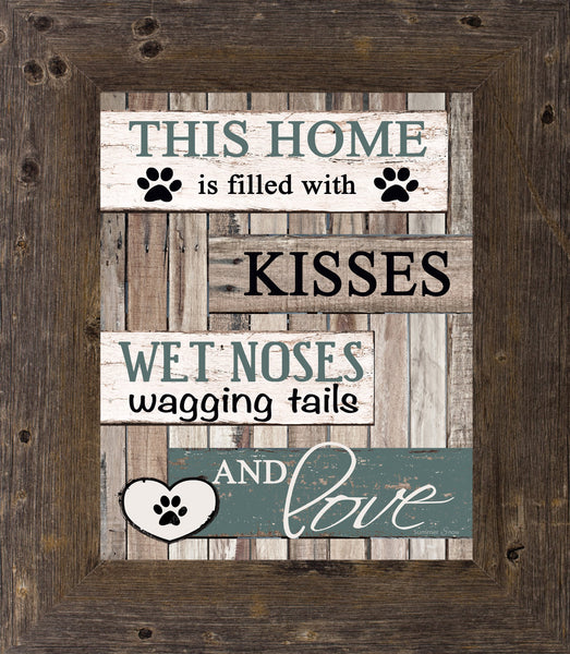 This Home is Filled with Kisses Dog SSA30