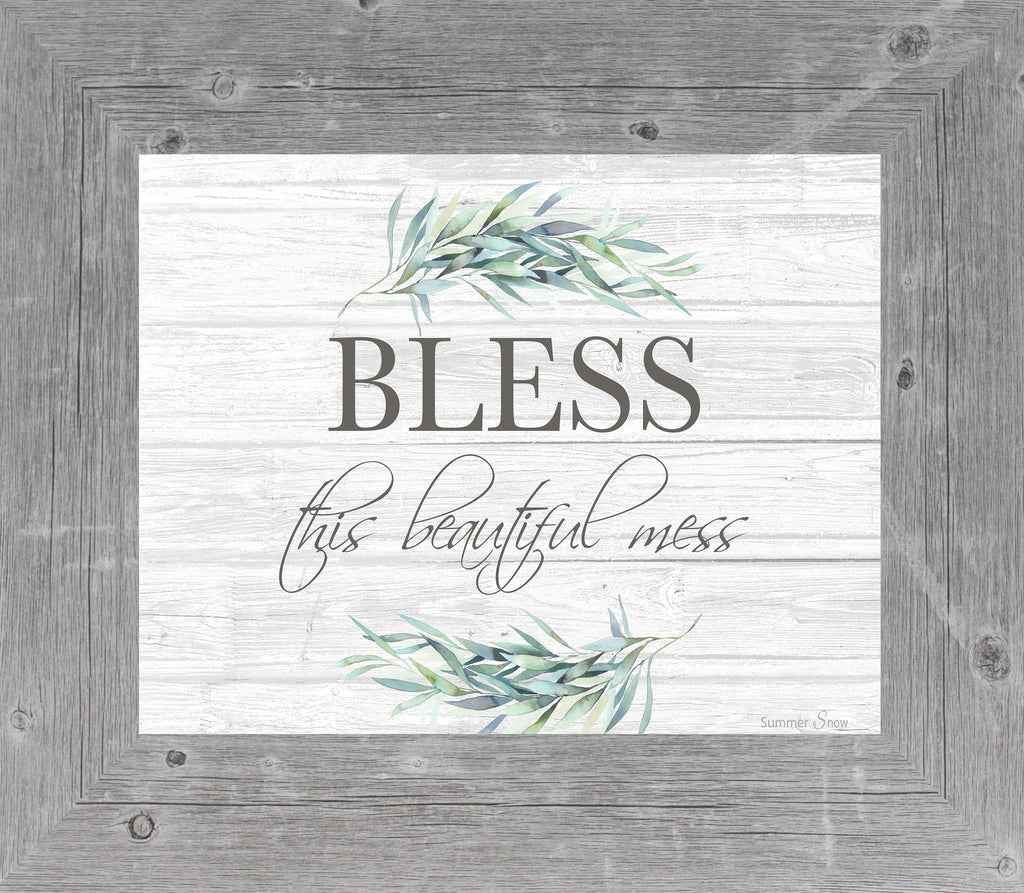 Bless This Beautiful Mess SSA38 - Summer Snow Art