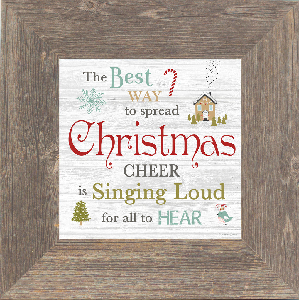 The Best Way to Spread Christmas Cheer Buddy the Elf  SSA595