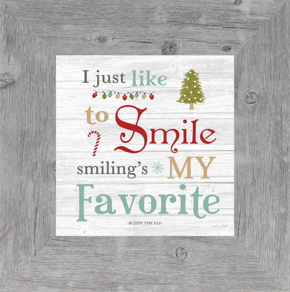 I Just Like to Smile Buddy the Elf SSA597 - Summer Snow Art