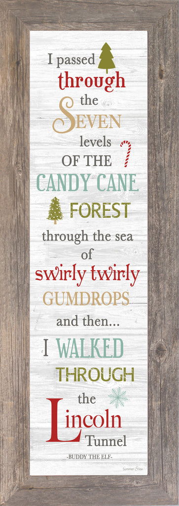 Candy Cane Forest Buddy the Elf SSA8242 - Summer Snow Art