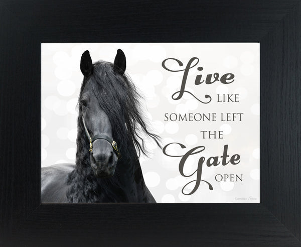 Live Like Someone Left the Gate Open SSW9836