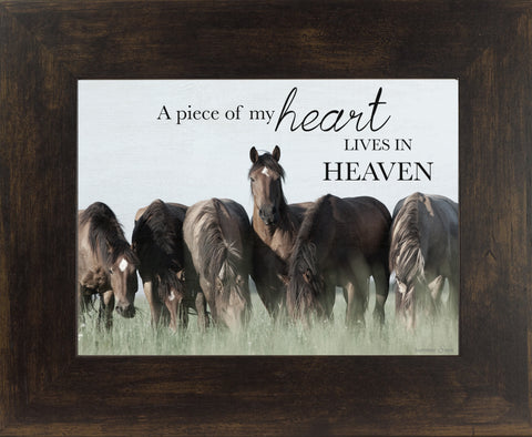 A Piece of My Heart Lives in Heaven horse SSW9838