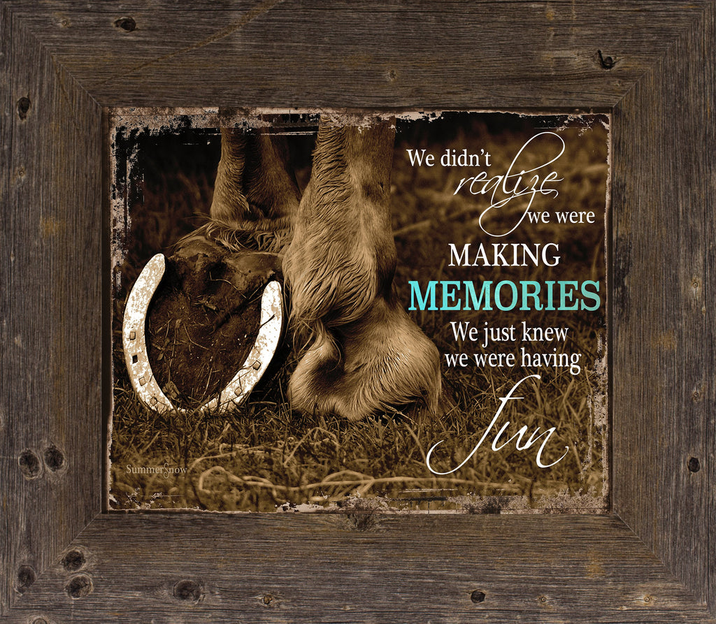 Making Memories Horse by Summer Snow SSW9995 - Summer Snow Art