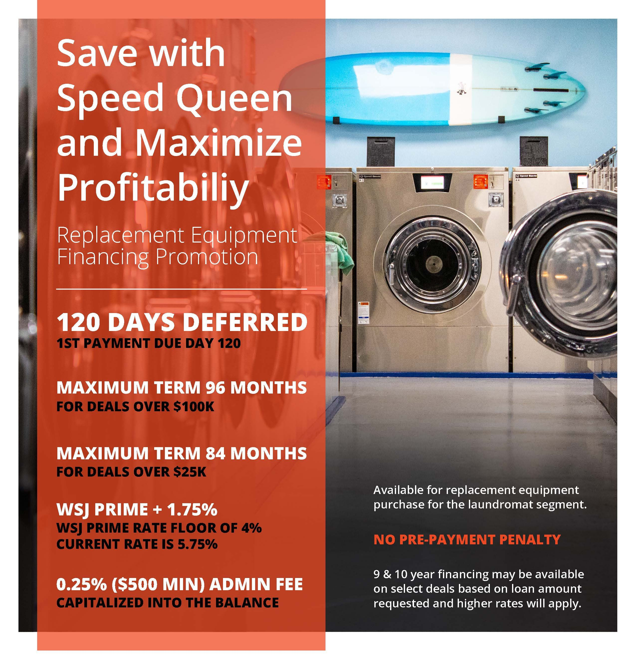 Save with Speed Queen and Maximize Profitability