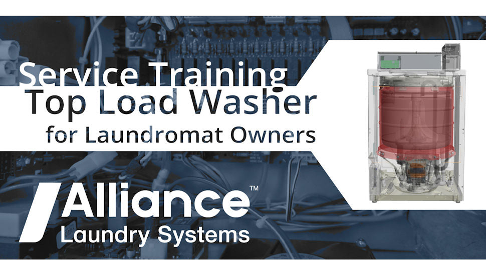 Service Training Top Load Washer - October 1, 2020 - Register Here