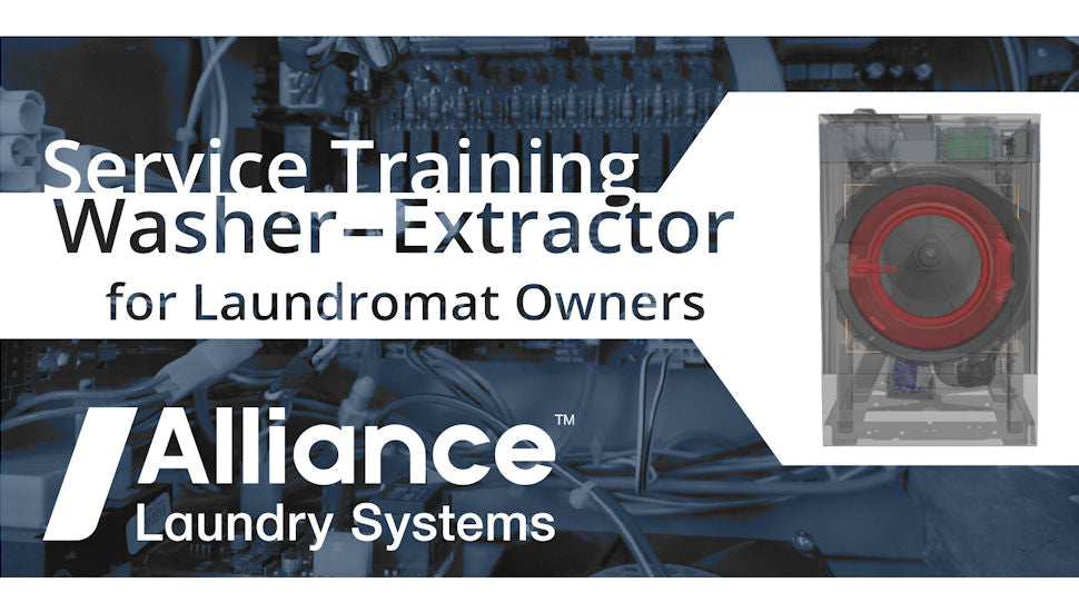 Service Training Washer-Extractor - September 24, 2020 - Register Here