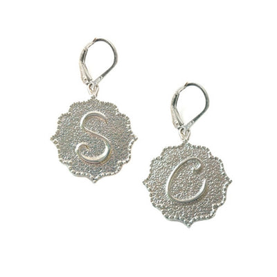 kISS INITIAL EARRINGS ~ MIX & MATCH, GOLD & SILVER