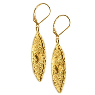 S&CTESTA Amor Vincit Omnia DOVE EARRINGS - EARRINGS - SOPHIA & CHLOE - S&CTESTA