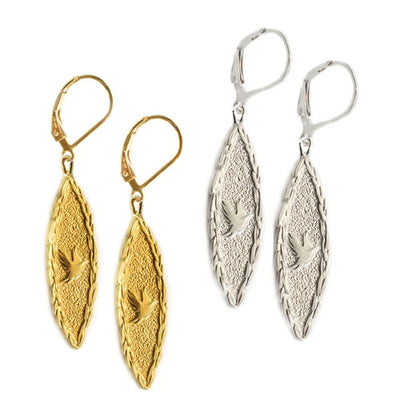 Amor Vincit Omnia DOVE EARRINGS