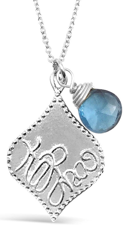 KARMA BIRTHSTONE NECKLACES
