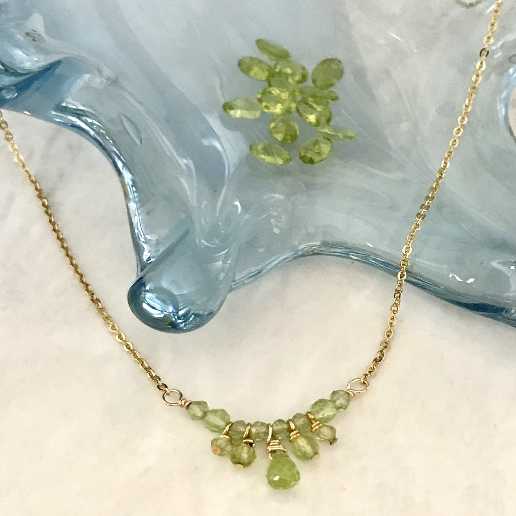 SWEETHEART BIRTHSTONE NECKLACE