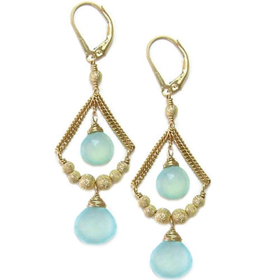 JENNIE DAINTY CHANDELIER EARRINGS