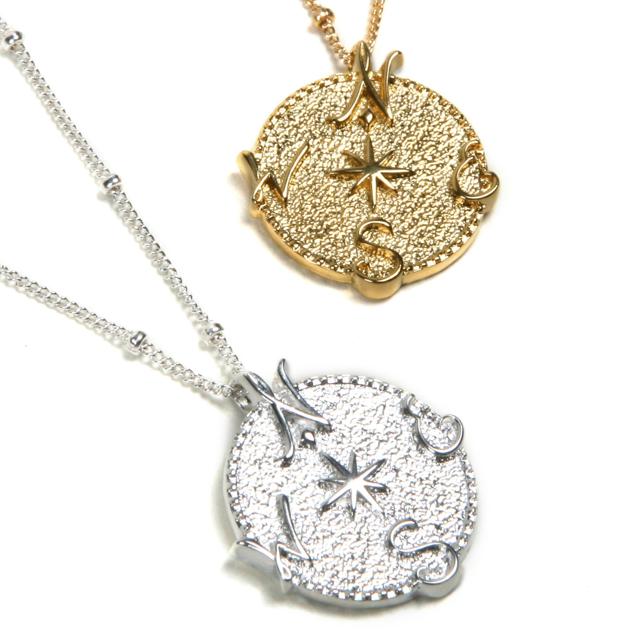 pid bs gold necklaces pendants compass gemstone blue diamond white necklace accented and pendant sapphire