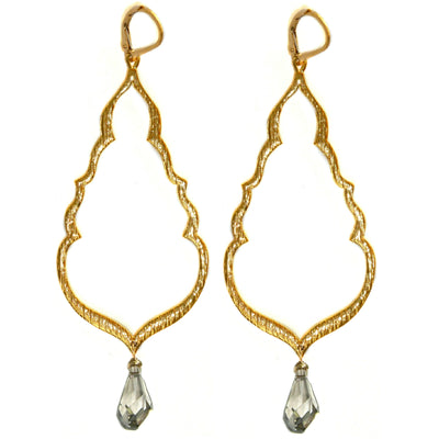 BUDDHA'S KISS© Gold Statement Earrings, in assorted drops