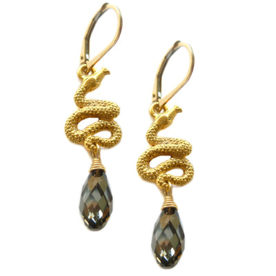 SERPENT EARRINGS ~ Assorted drops