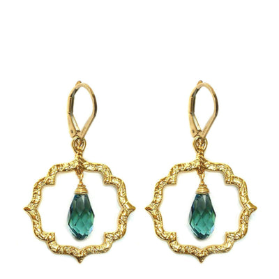 DAINTY KISS MOROCCAN EARRINGS ~ Gold or Silver, assorted drops