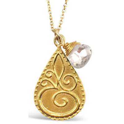 OM© BIRTHSTONE NECKLACES